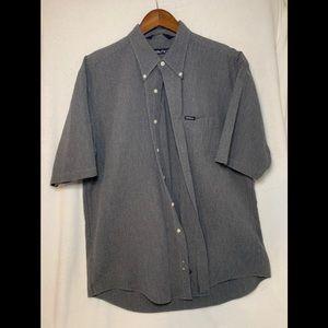 Vintage NWOT Nautica Short Sleeve Button Textured